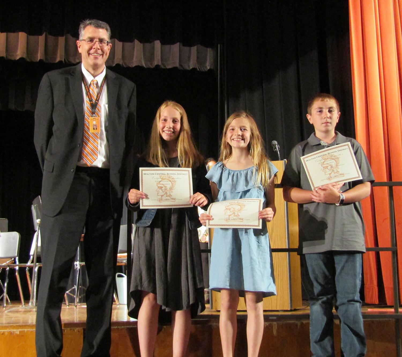 5th grade superintendent's list