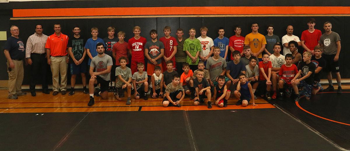 Wrestling camp 2018