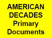 American Decades Primary Documents