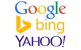 "words ""Google, Bing, Yahoo!"""