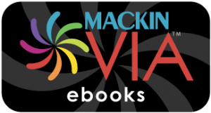 Button reads Mackin Via eBooks and links to service