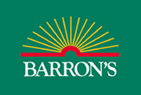 "Button reads ""Barron's"" and links to product"