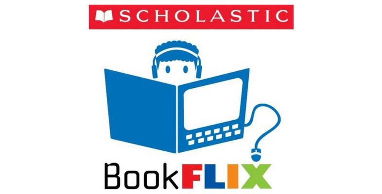 "Child reading ""Scholastic BookFLIX"""