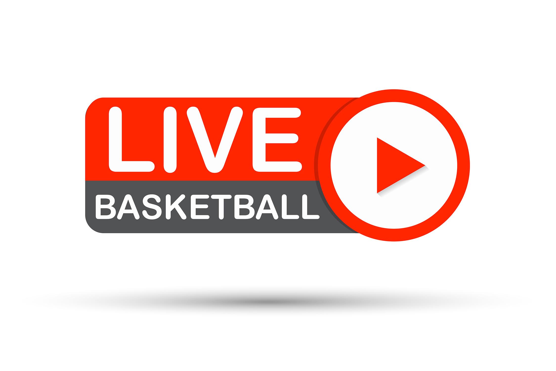 Live Basketball play button