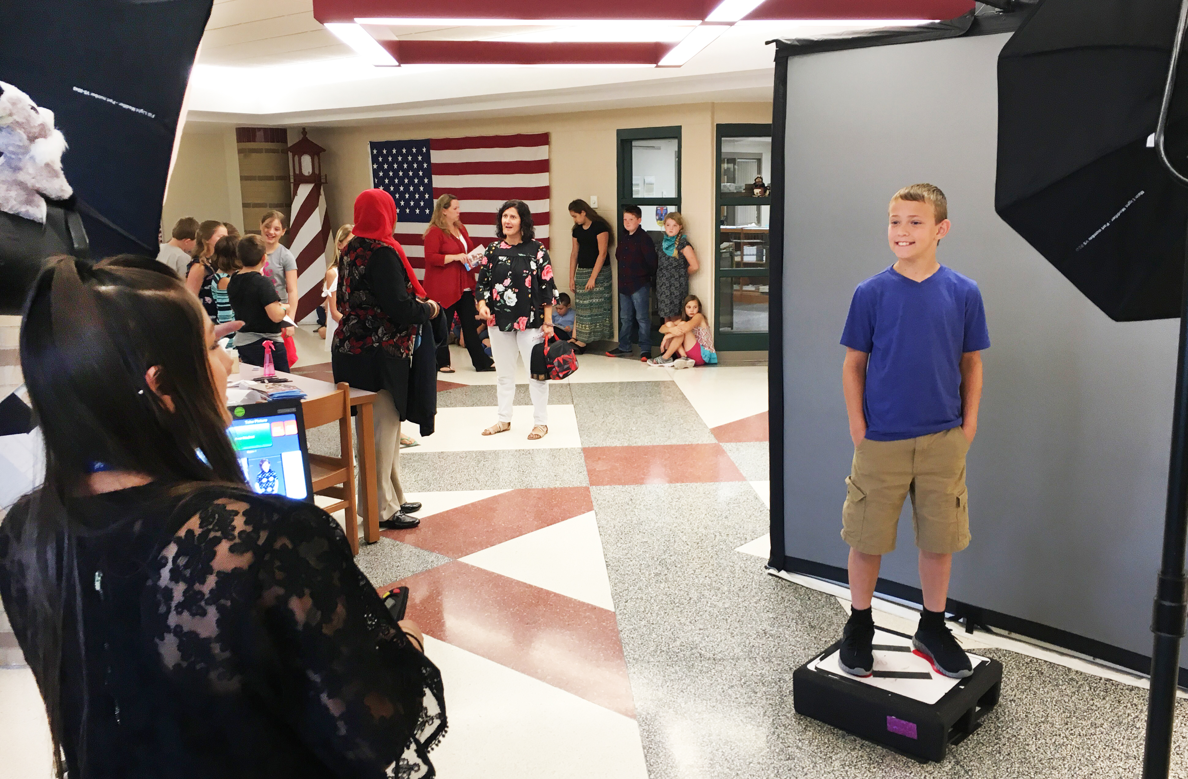 School photo day (2019)