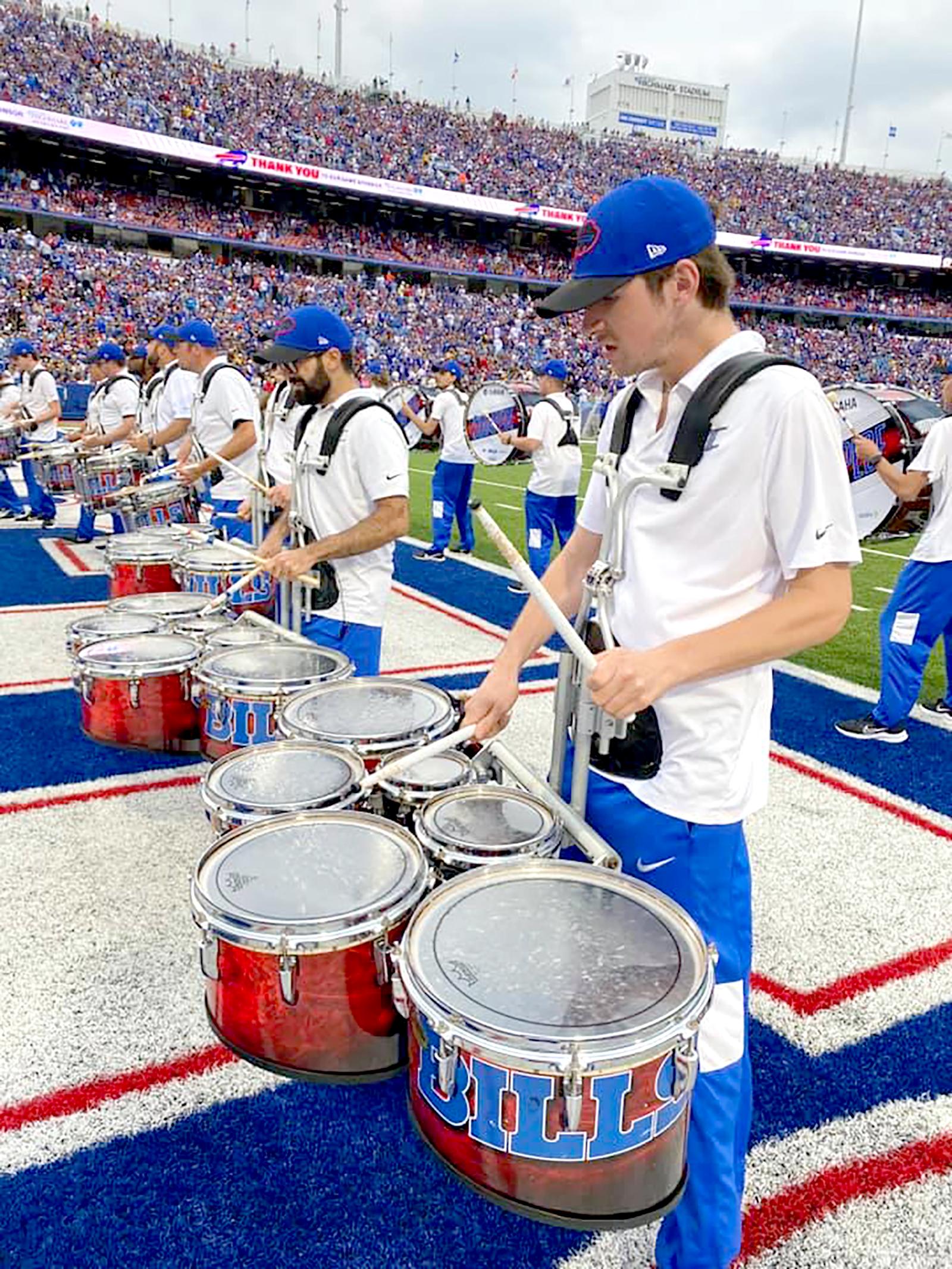 Stampede Drumline file photo