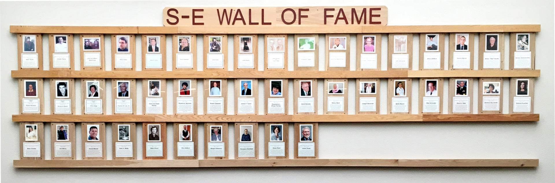 S-E Wall of Fame