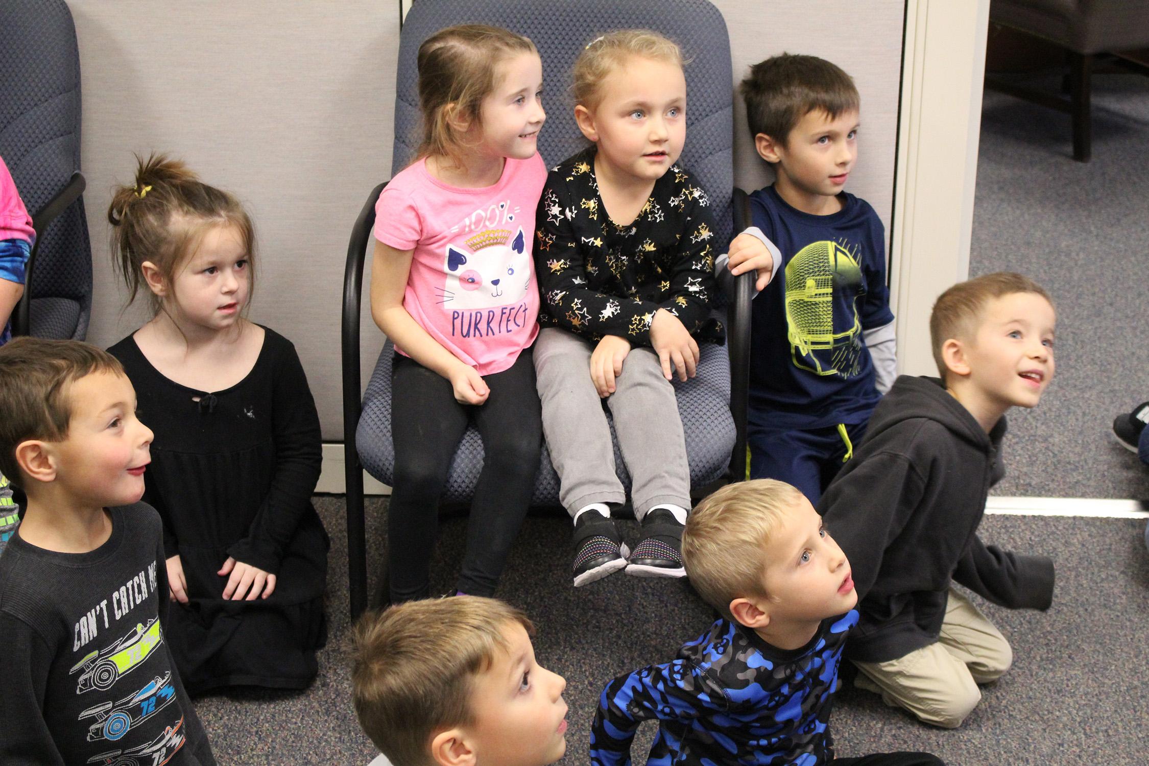 Kindergarten kids file photo