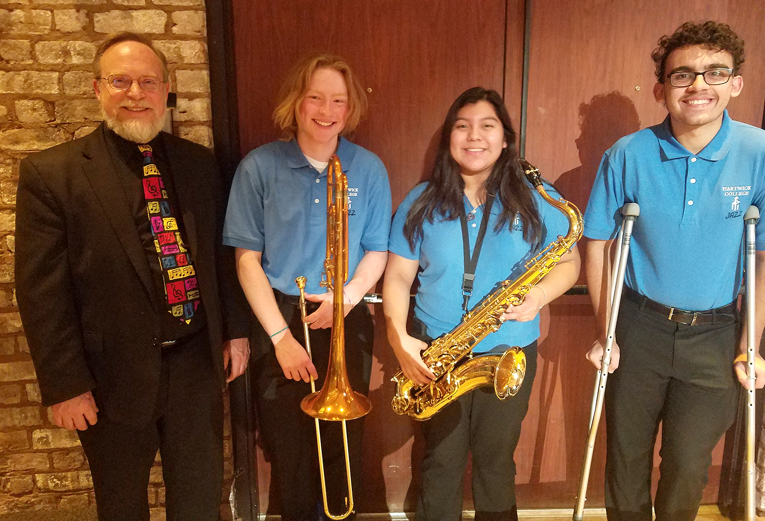 Sidney students take part in Hartwick College Jazz ensemble