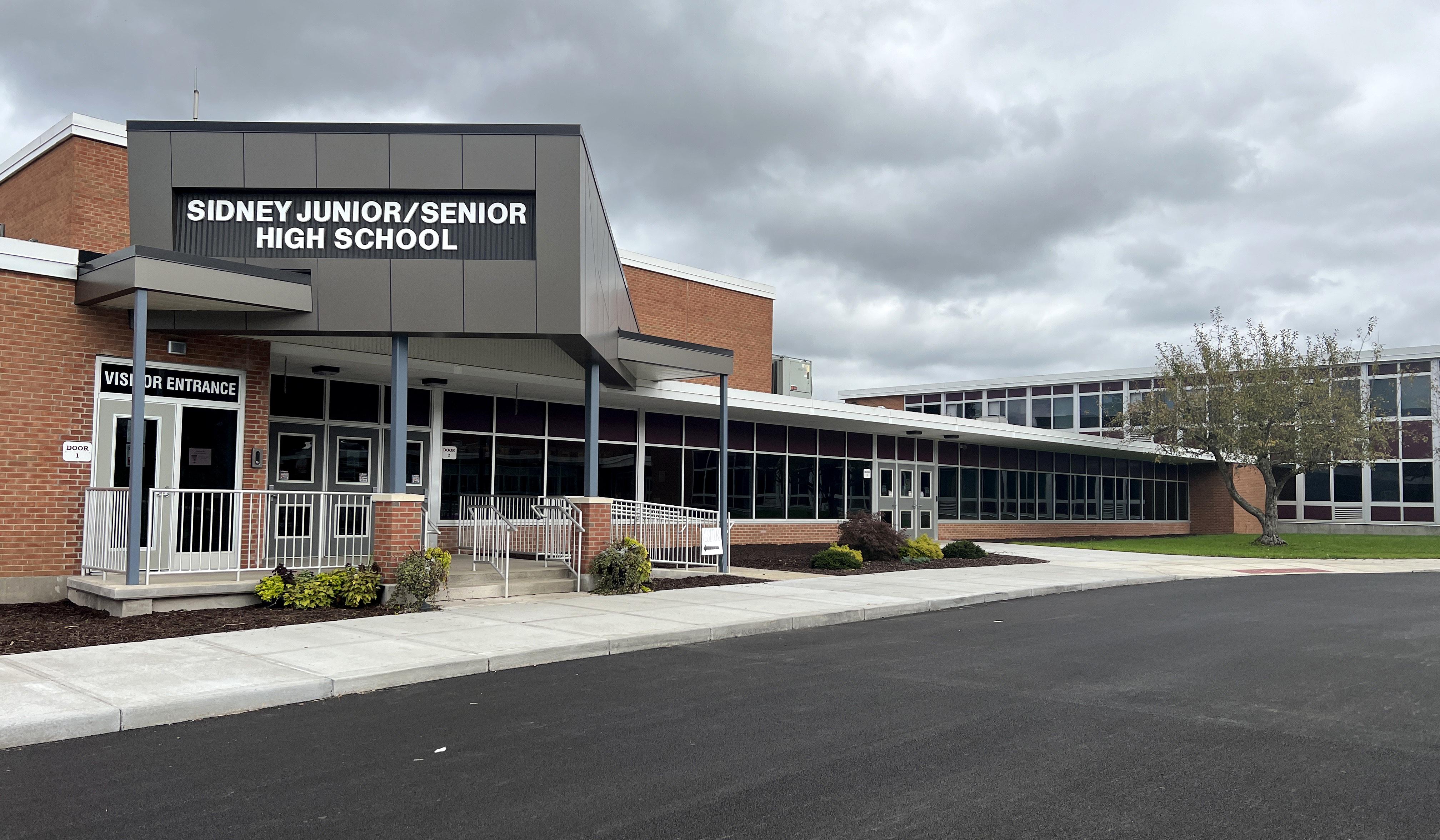 Sidney CSD Jr/Sr high school
