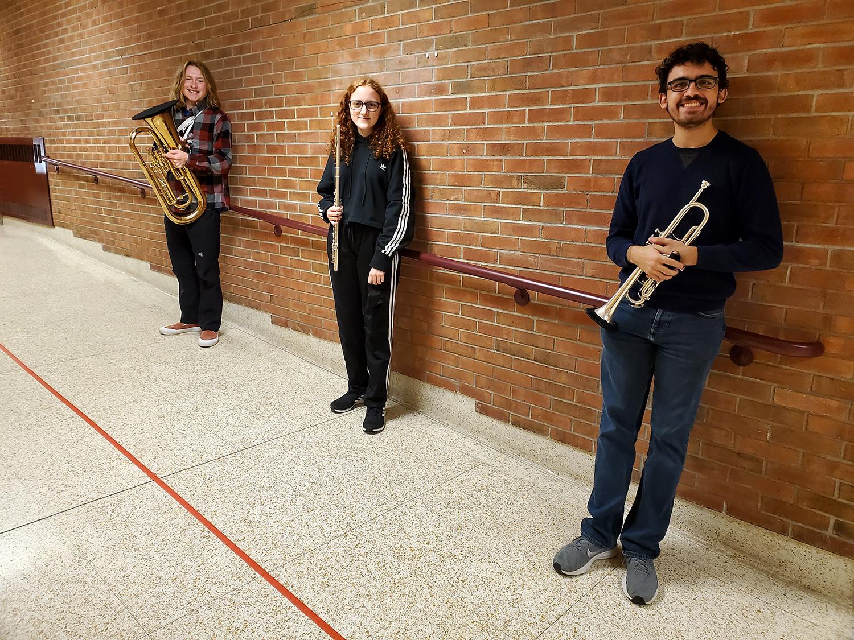 Honor Band participants