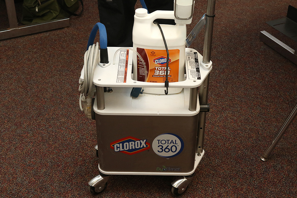 The Clorox cleaning system