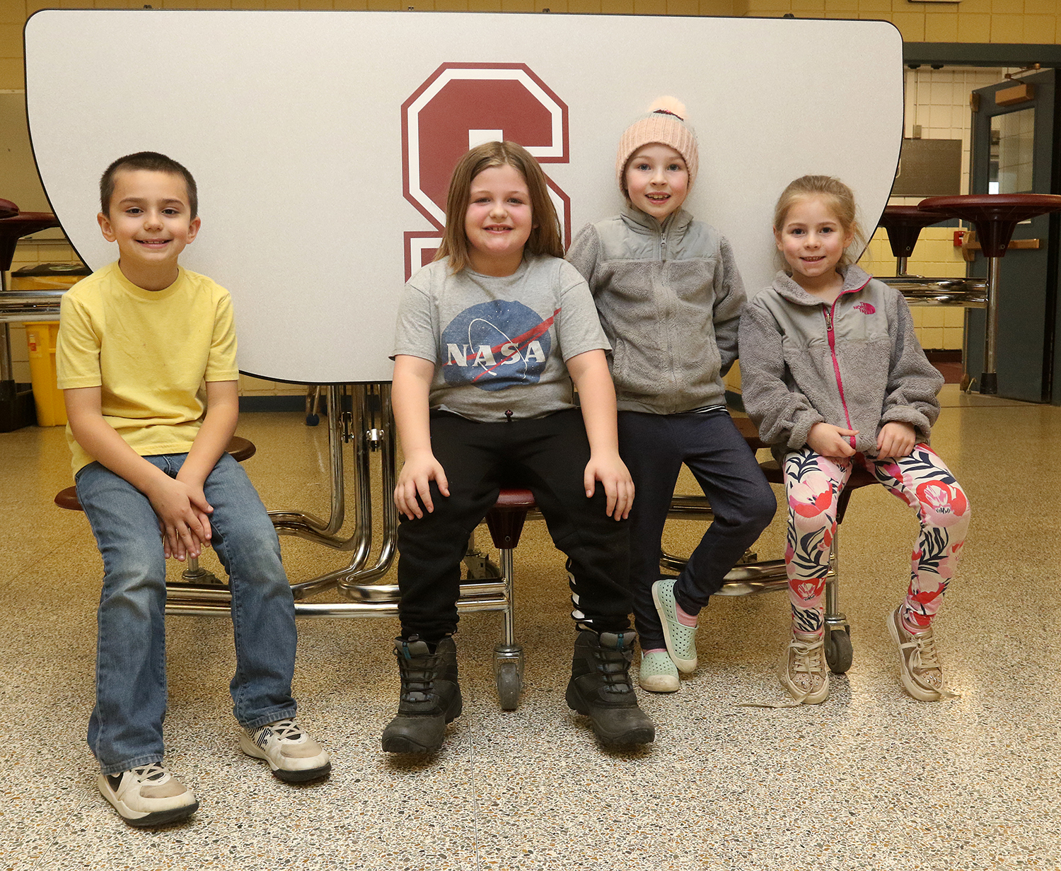 Odyssey of the Mind Primary team