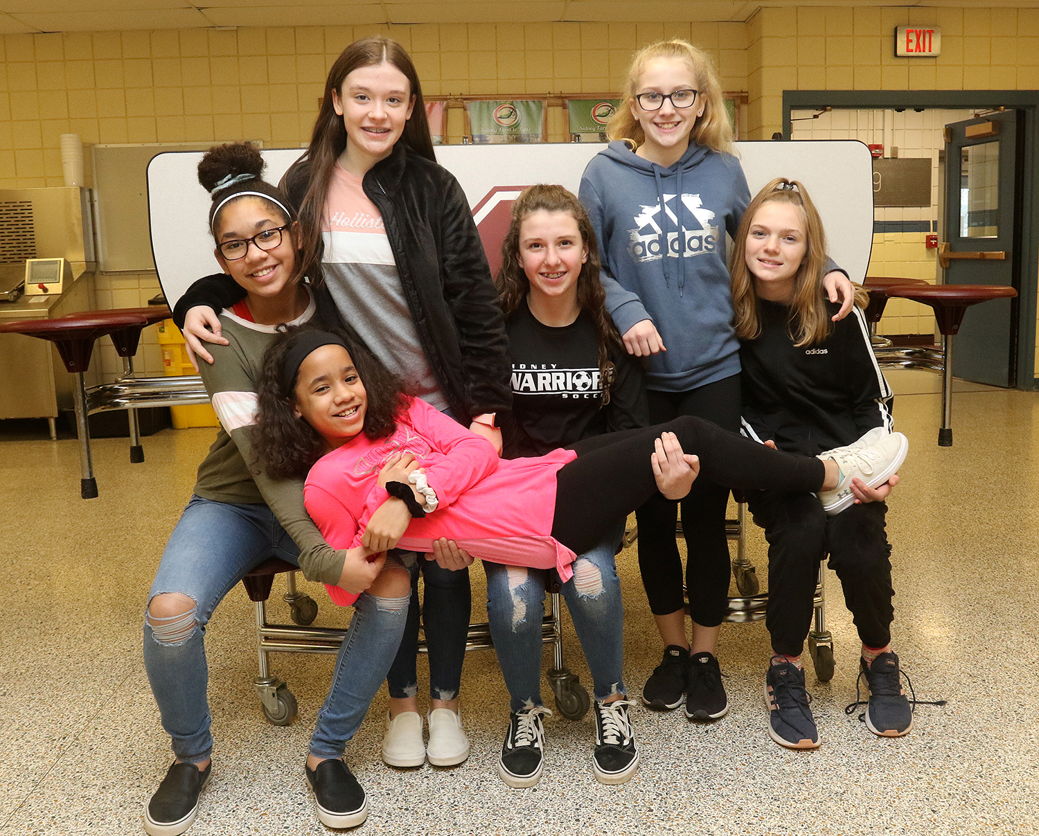 Odyssey of the Mind Division II team