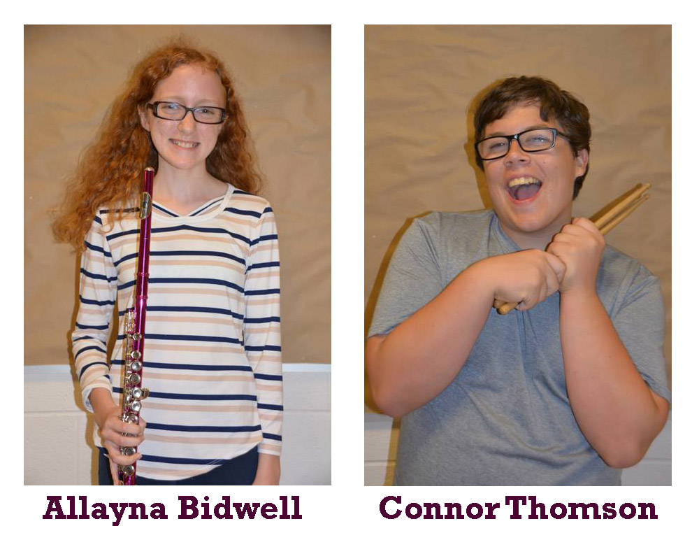Band Members of the Month April 2019
