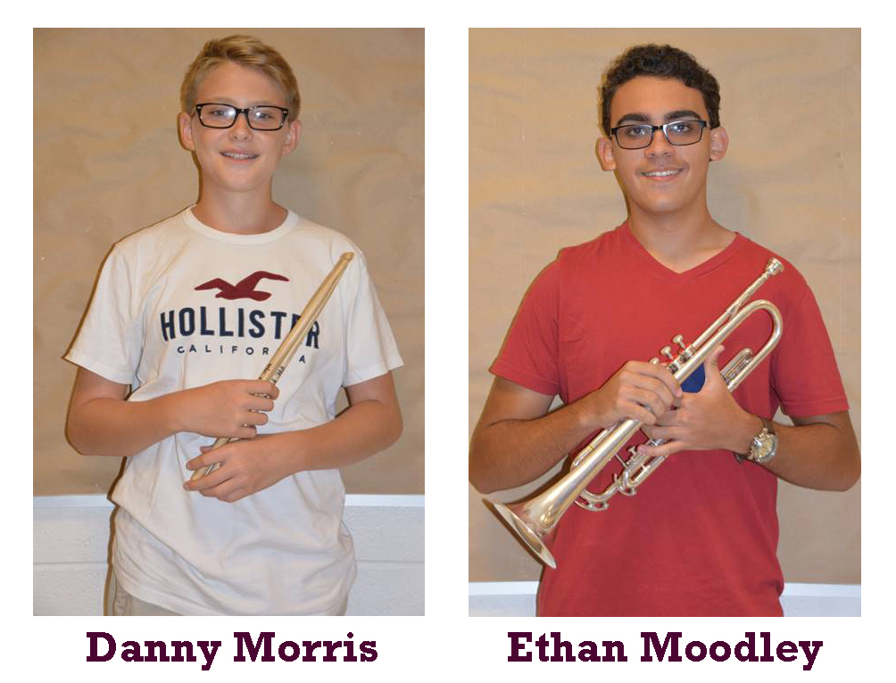 Band Members of the Month for March 2019