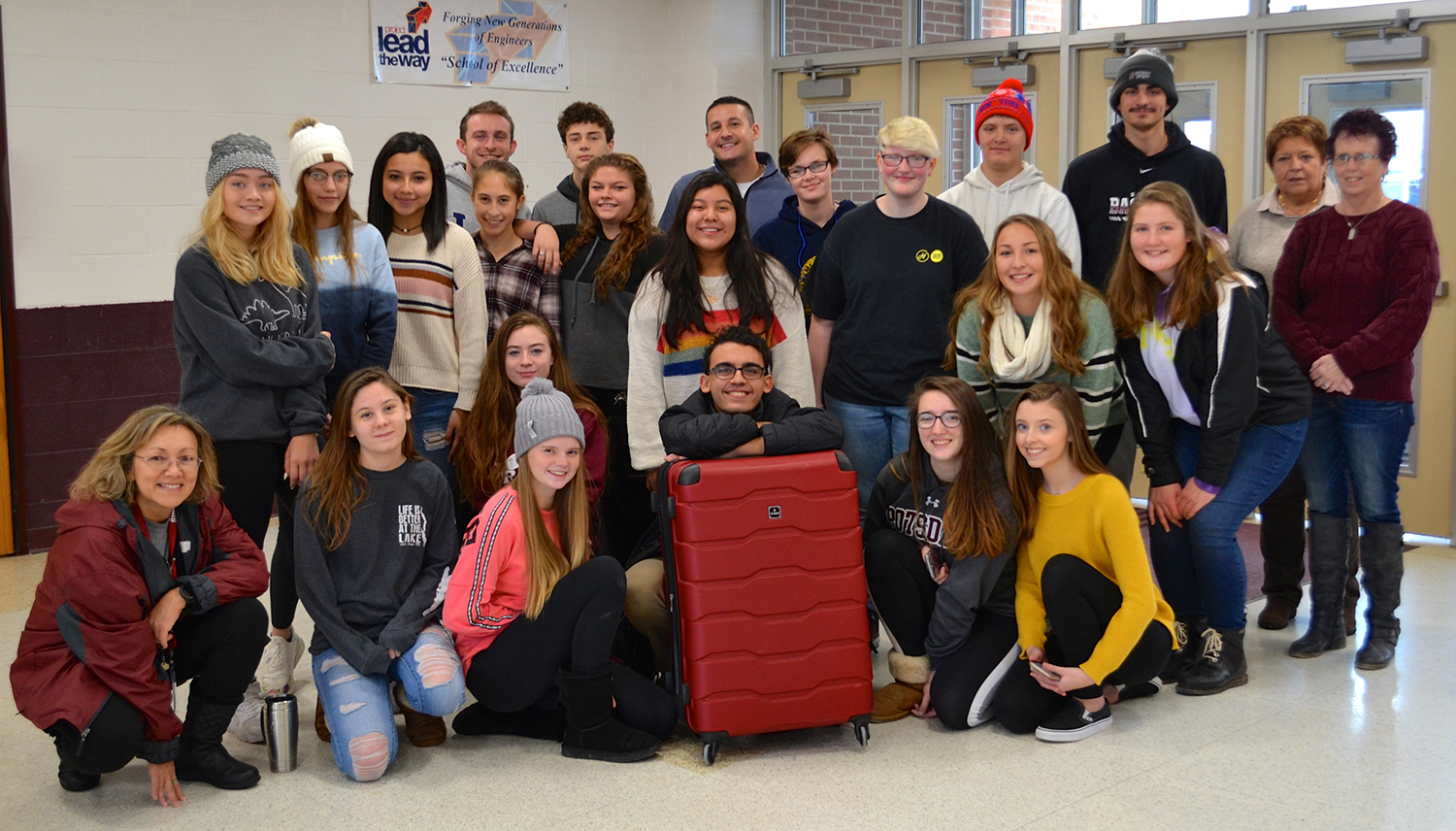 Sidney students and staff attend Teen Institute