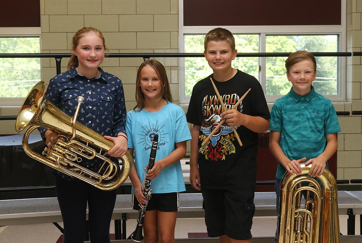 Community band members - group 3
