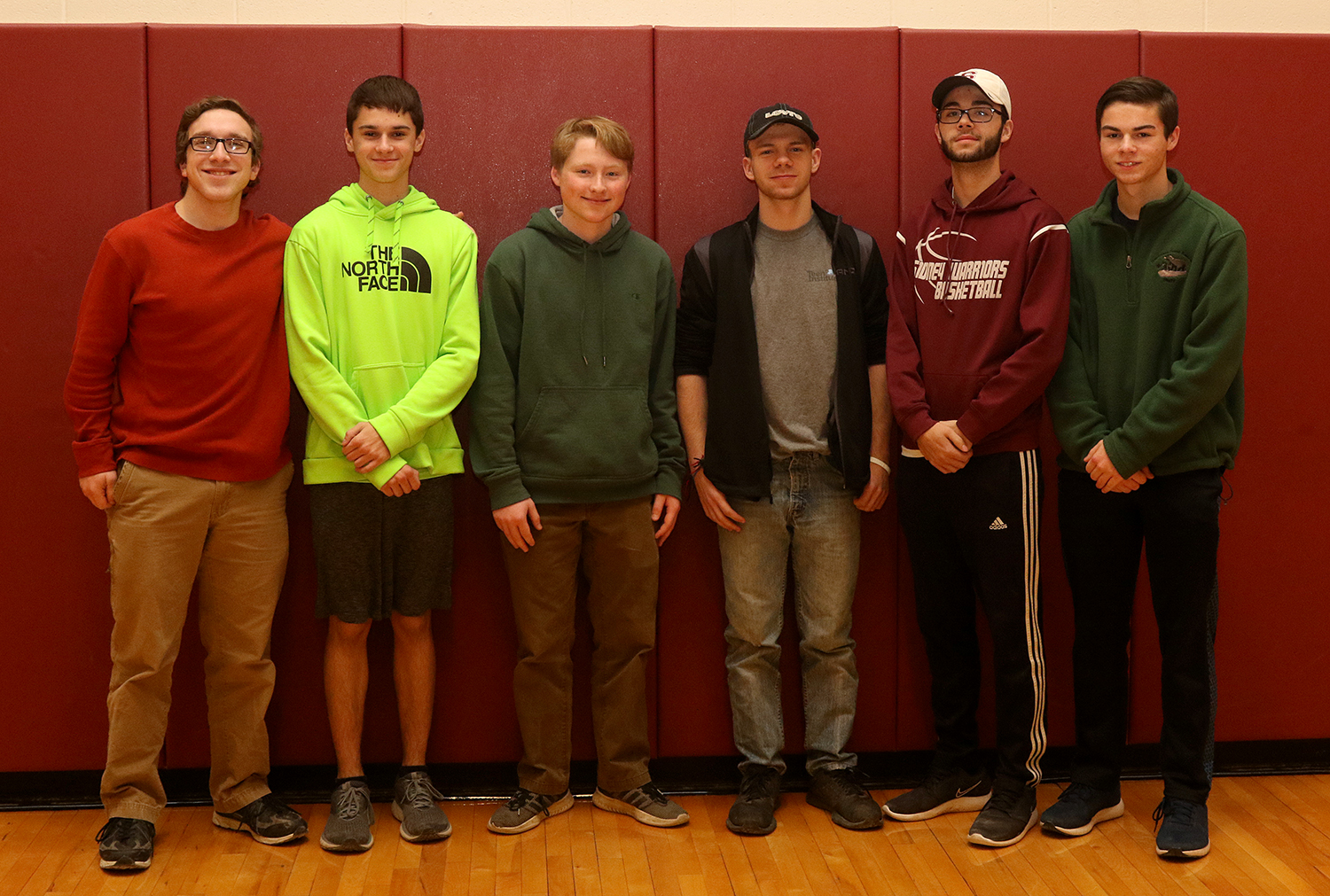 2018 NYSPHSAA fall scholar-athlete team for Sidney boys cross country