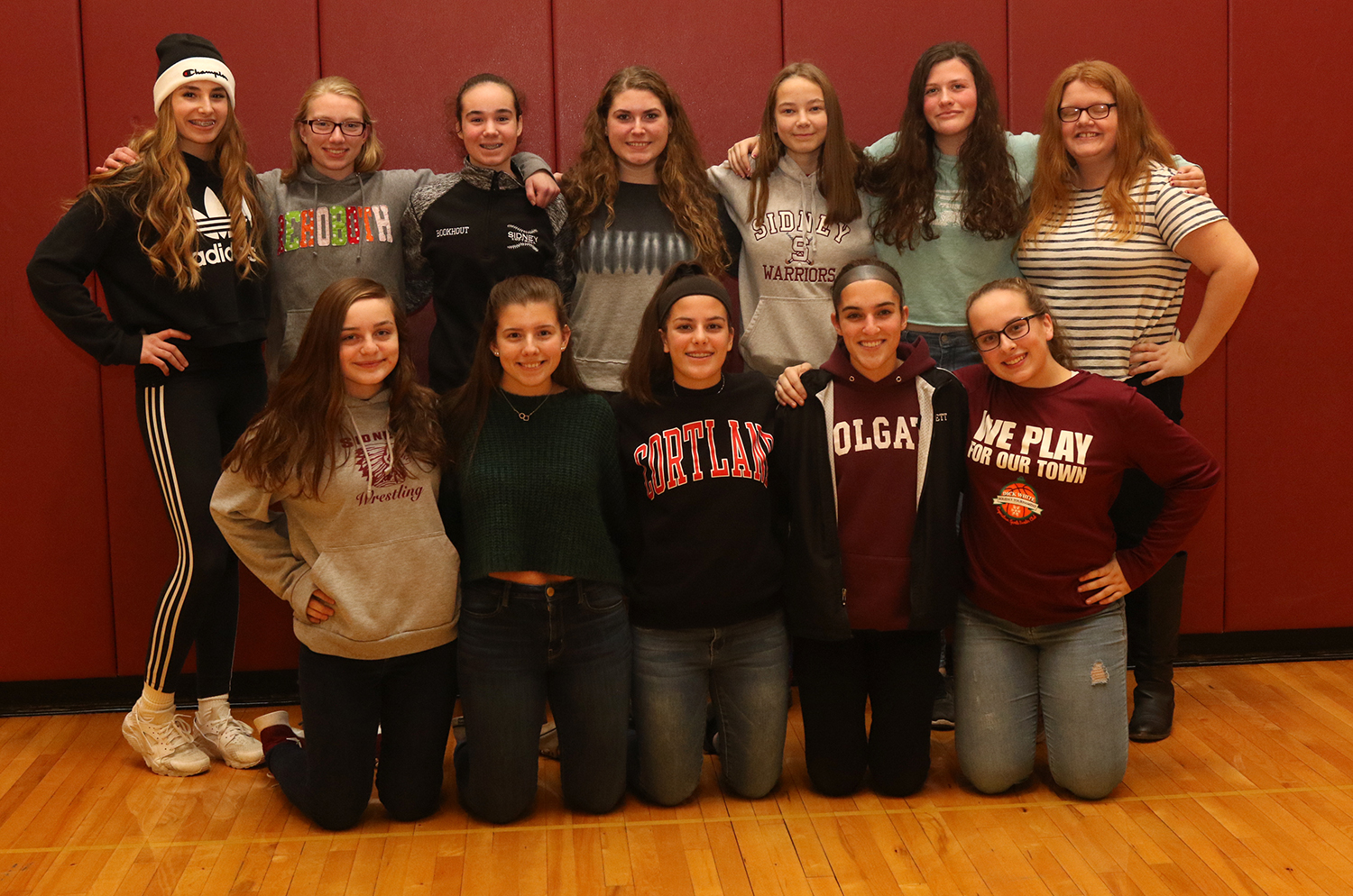 2018 NYSPHSAA fall scholar-athlete team for Sidney field hockey