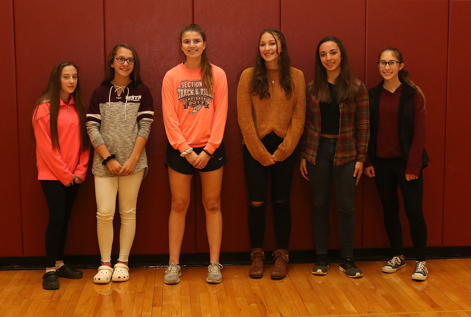 2018 NYSPHSAA fall scholar-athlete team for Sidney girls soccer
