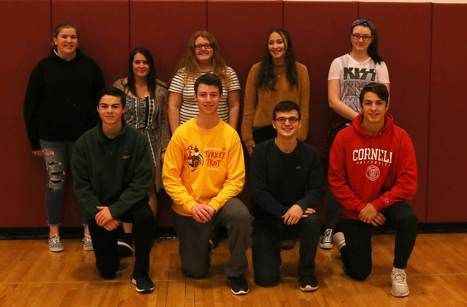 2018 NYSPHSAA fall scholar-athlete team for Sidney MAC