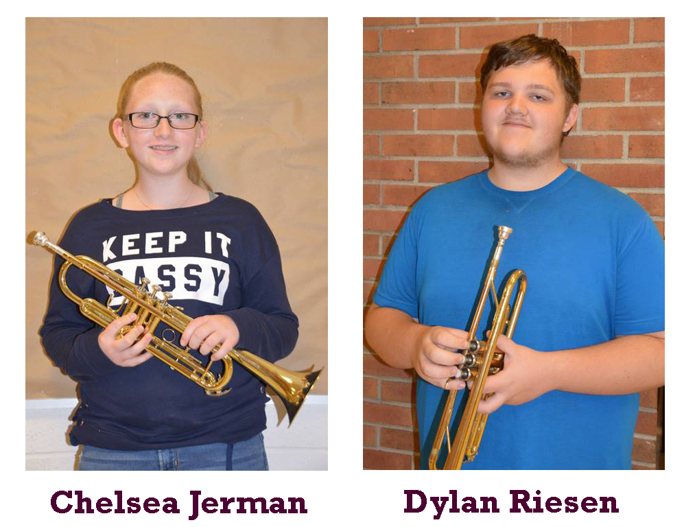 Band Members of the Month - February 2019