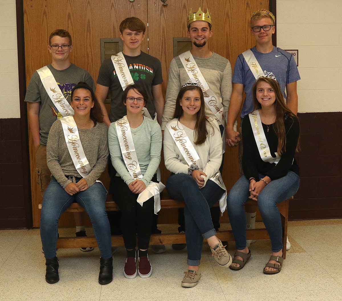 Sidney 2018 homecoming court