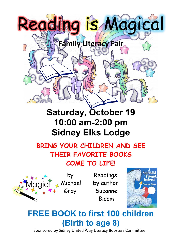 Literacy Fair flyer