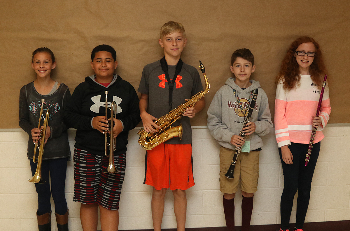 Community band members - group 2