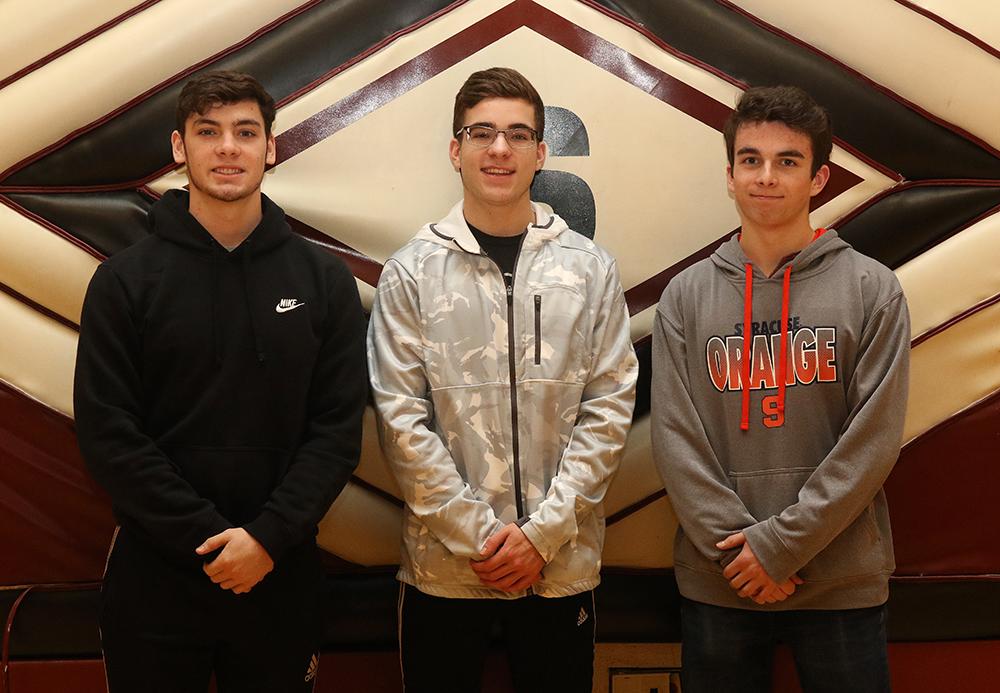 Boys bowling scholar athletes