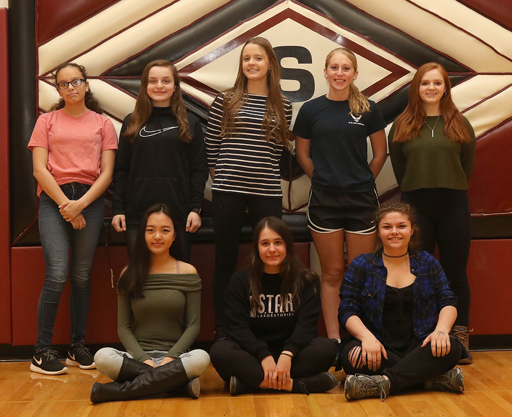 Sidney girls track scholar-athletes