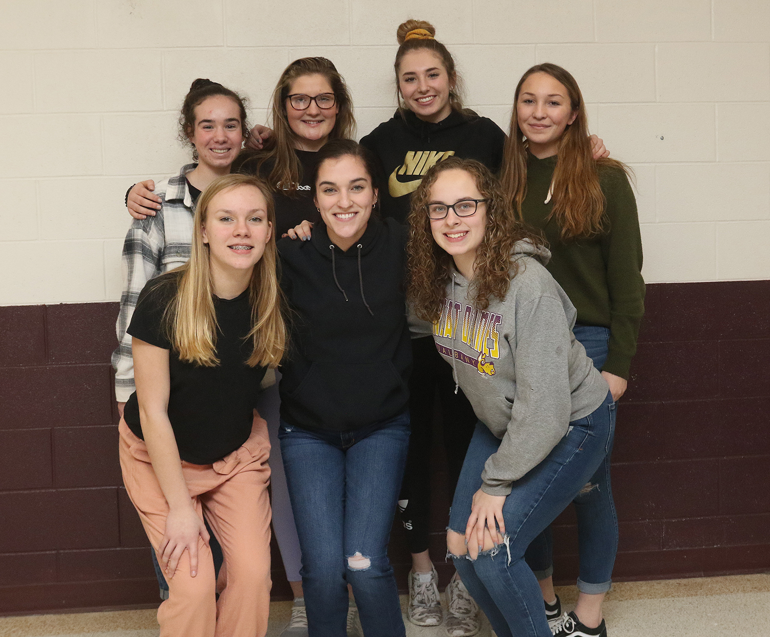 Girls basketball, winter 2019-20