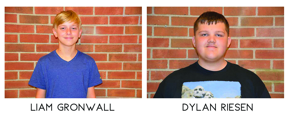 April Band Members of the Month