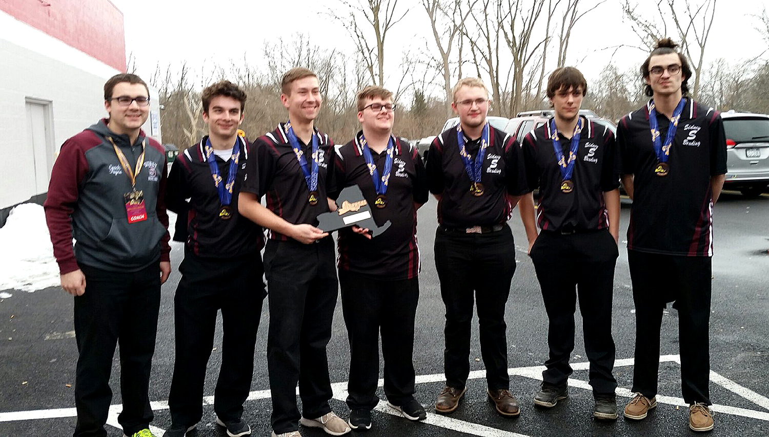Bowling team places third at states