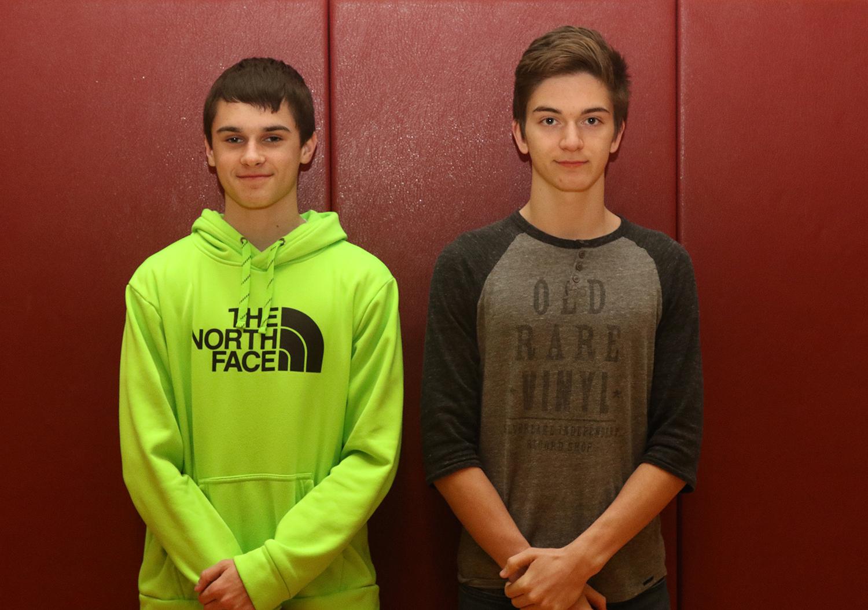 Boys indoor track scholar athletes