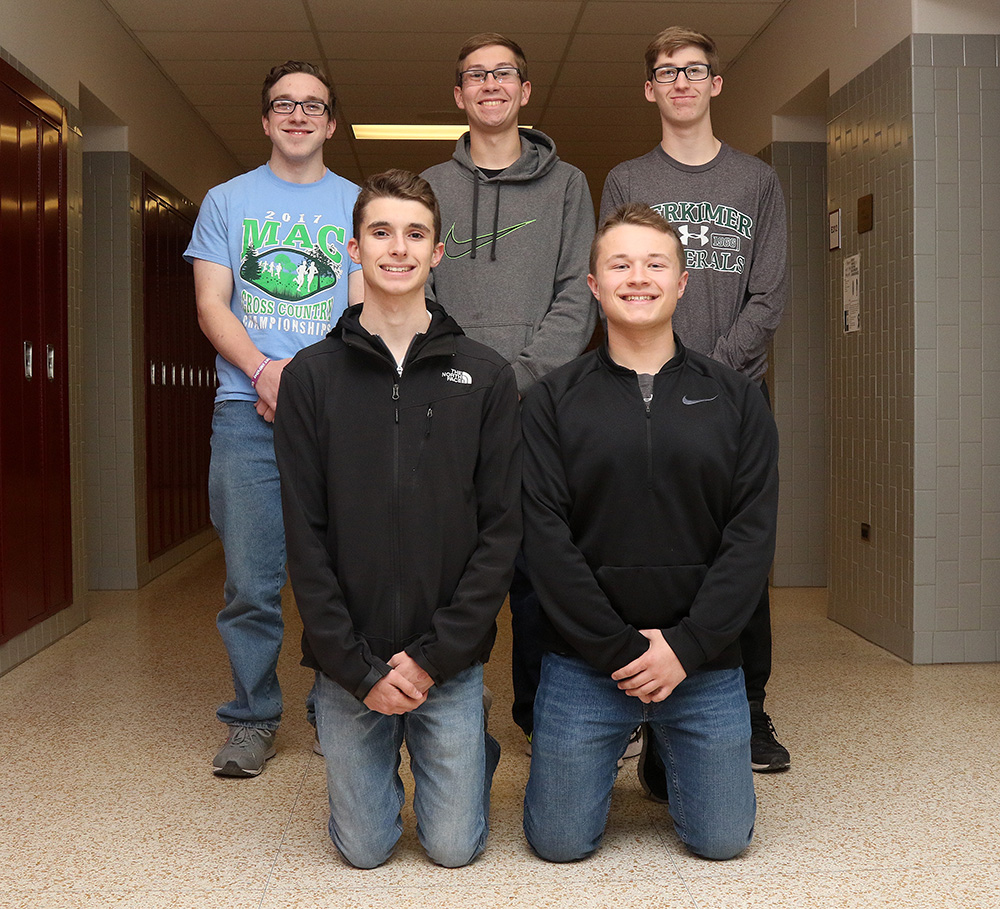Sidney representatives for Boys State 2018.
