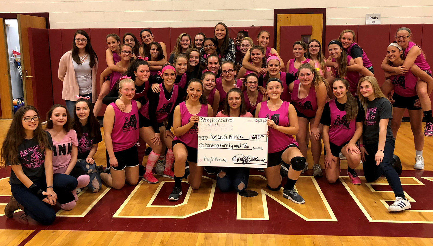 Charity volleyball game