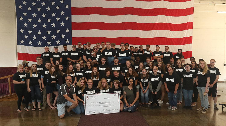 Senior class donation 2018