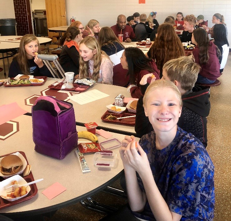 Mit It Up Day for hunior high students