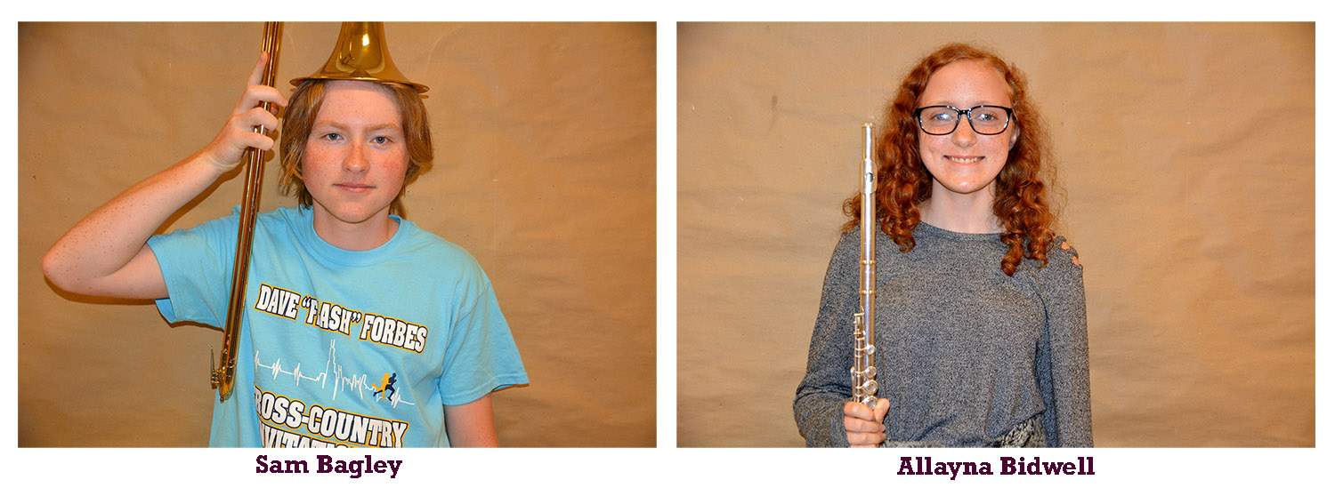 Band members of the month - November