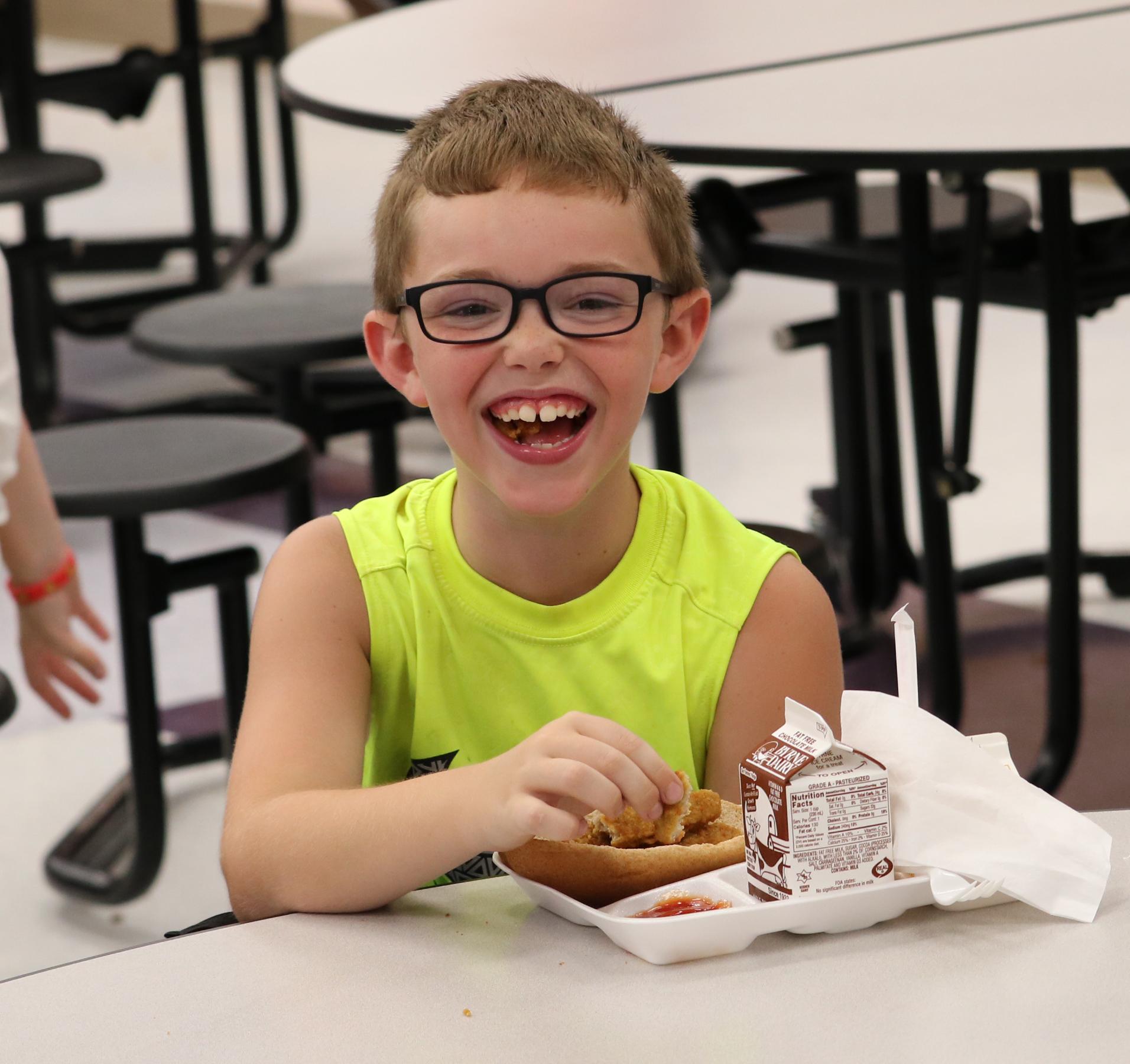 School Lunch Program Photo