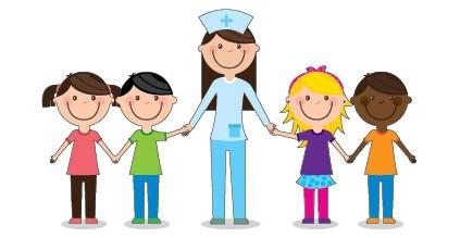 nurse and kids
