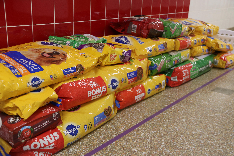 dog food donations