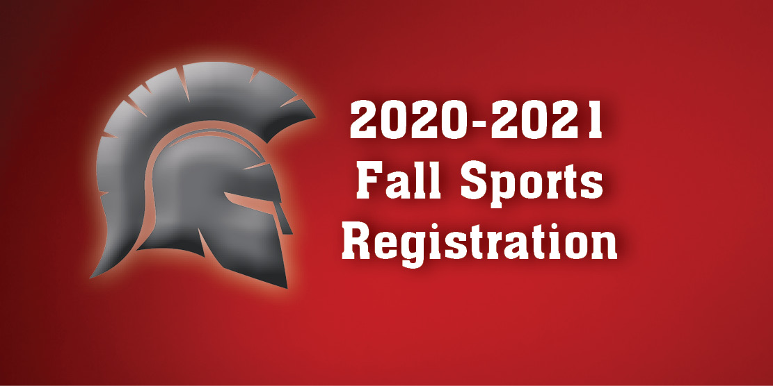 2020-2021 Fall Sports Registration