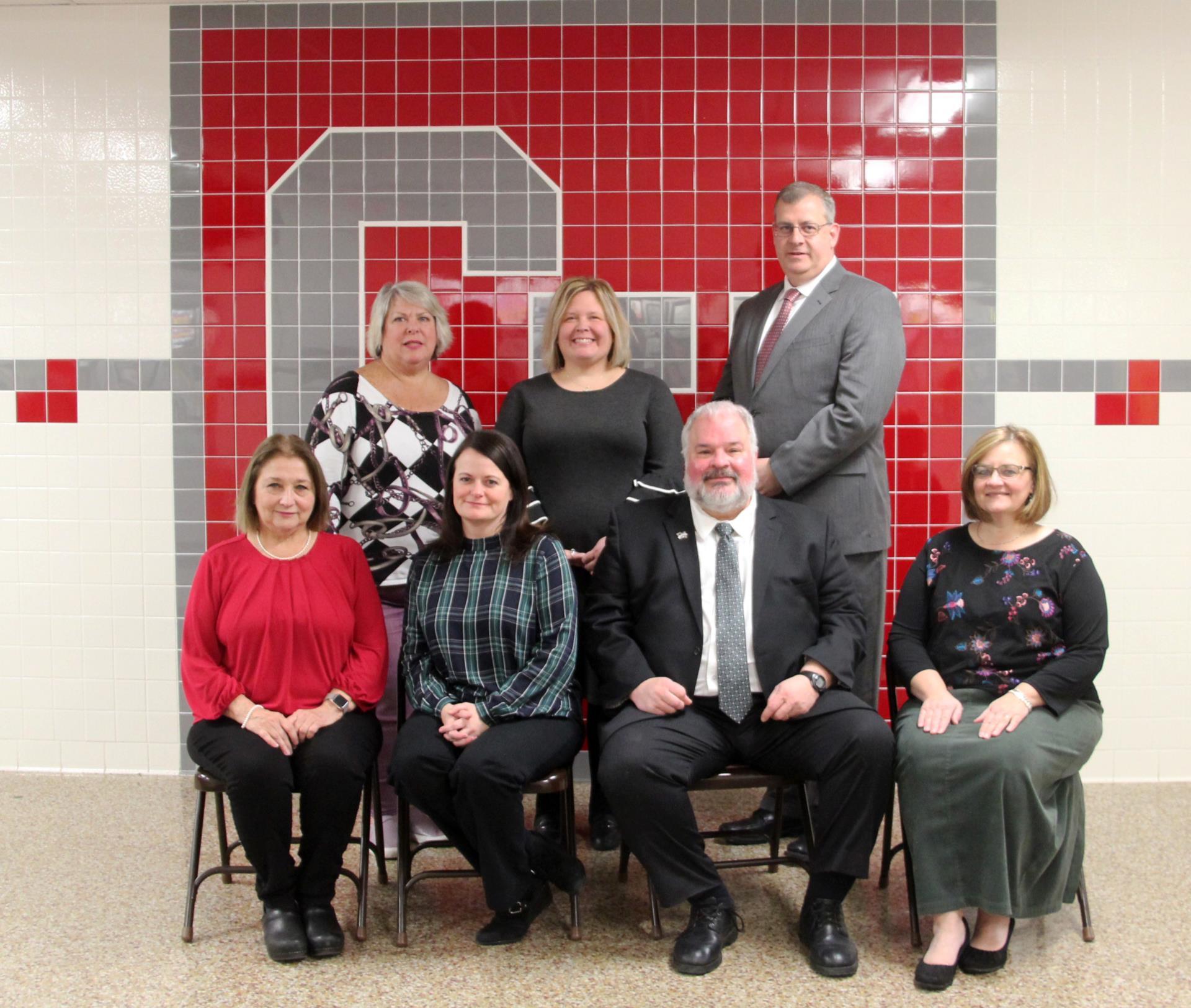 2019 - 2020 Board of Education members
