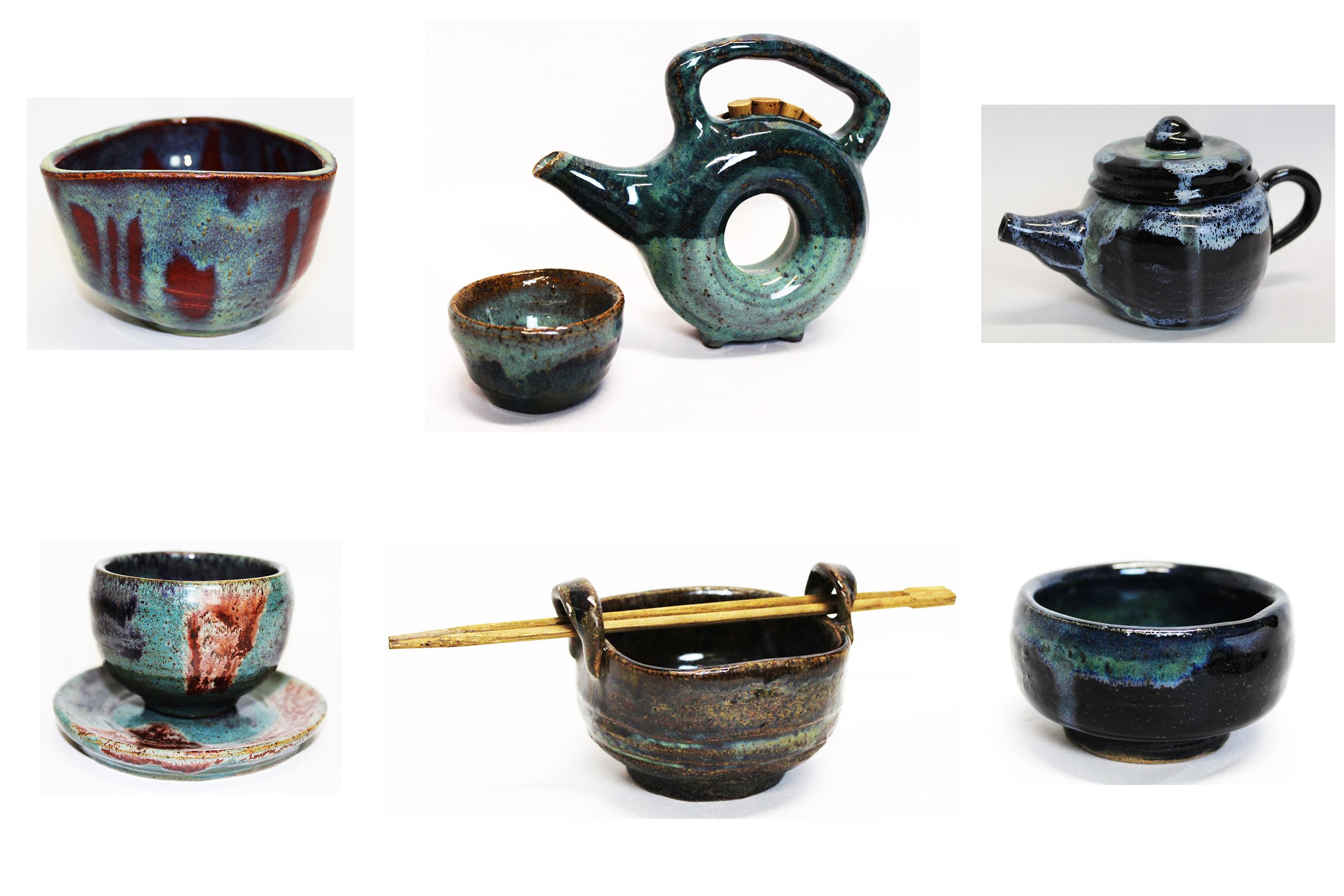 "Art Portfolio titled ""Exploring Tea"""