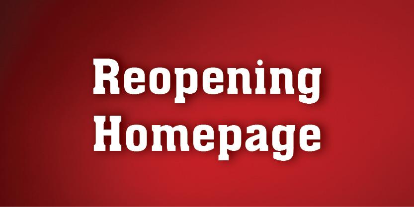 Reopening Homepage