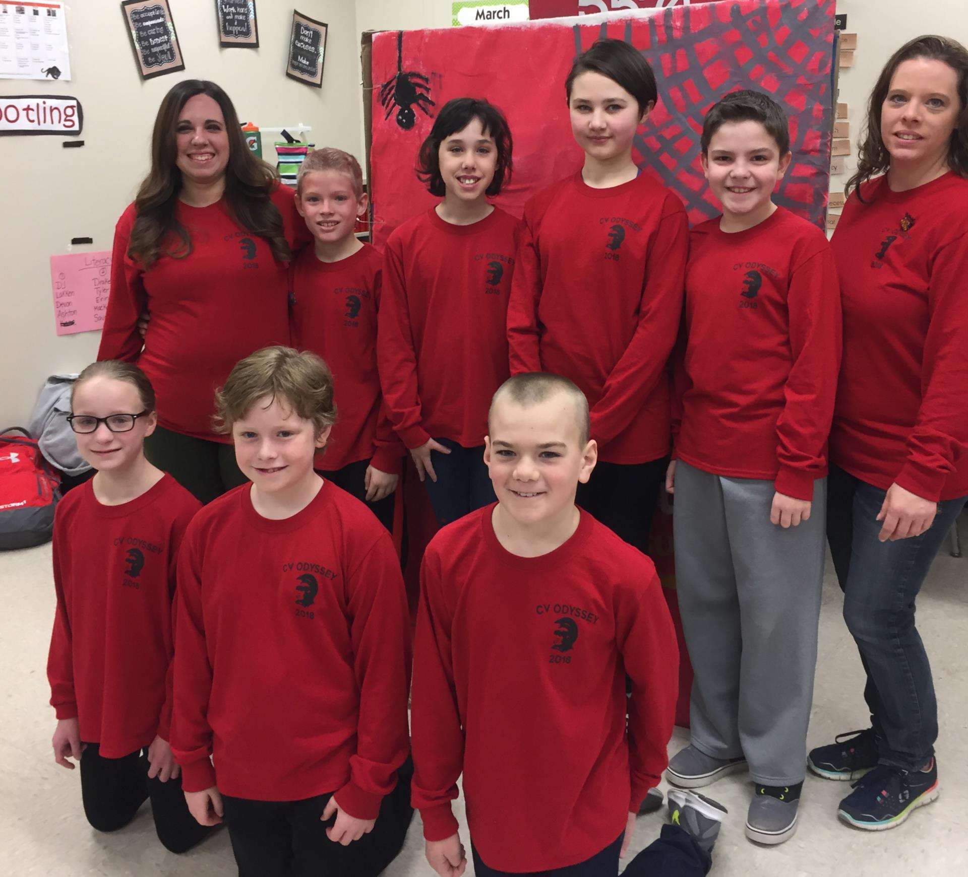 fifth grade team