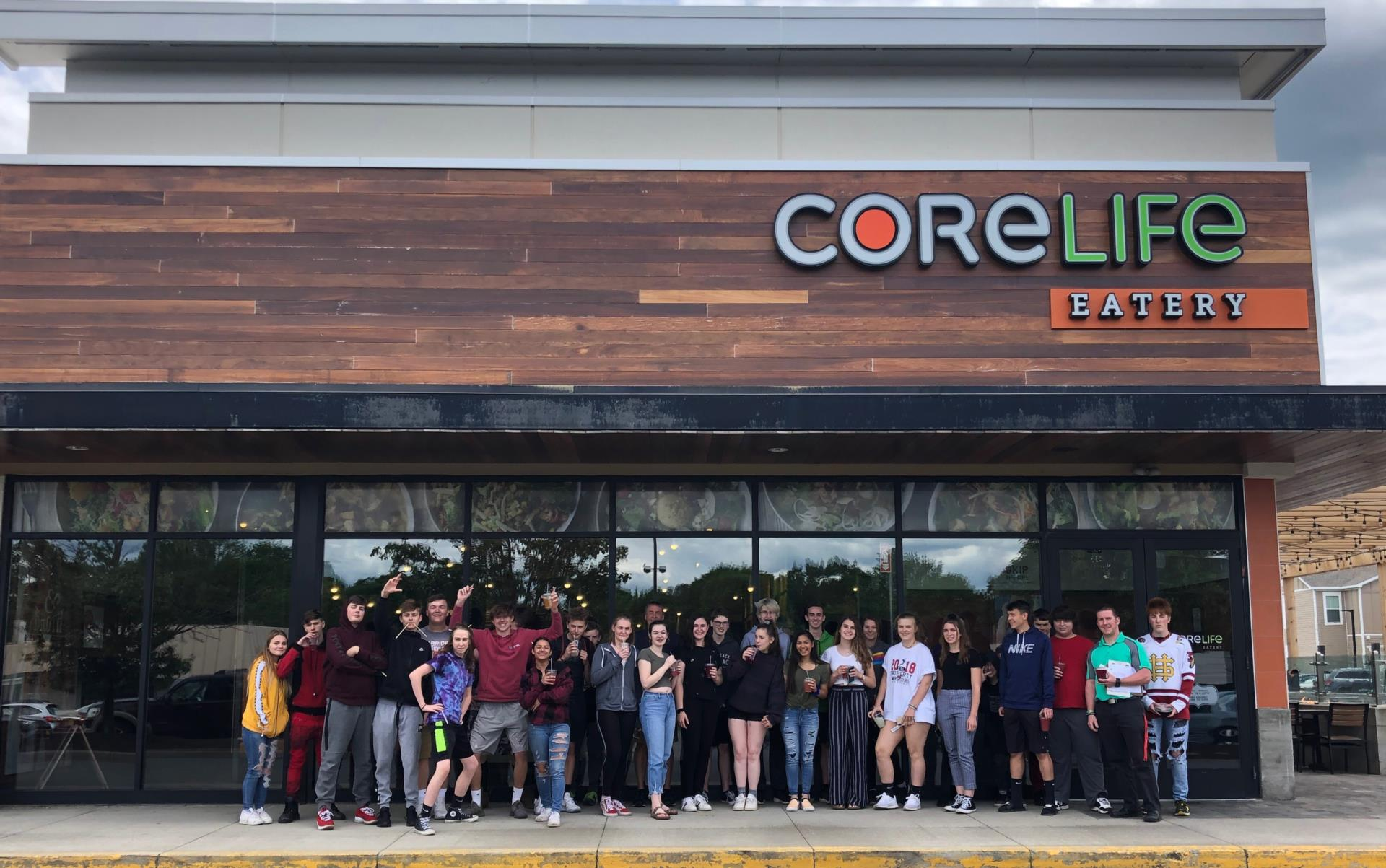students outside of core life